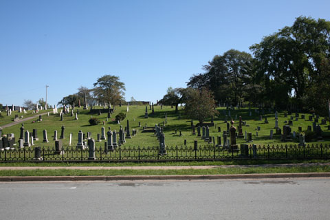 Graveyard in Dartmouth