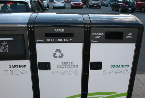 recycling bins in Halifax