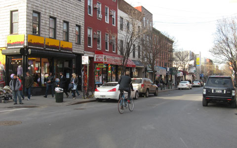 Street in Williamsburg