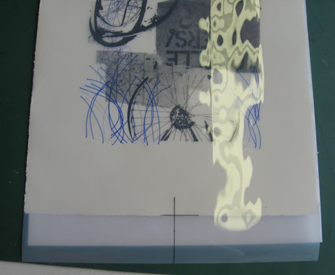 Preparing a photolithography plate with a pen