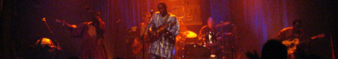 Vieux Farka Toure on stage