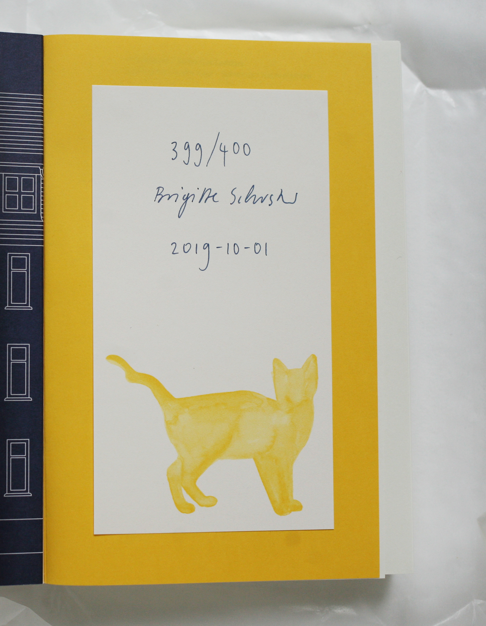 Swiss Cat Ladders Book Signed Copy