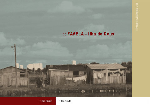 slum houses, from the the multidisciplinary art project 'Favela - Ilha de Deus' including documentary photography of a slum in Recife/Bresil.