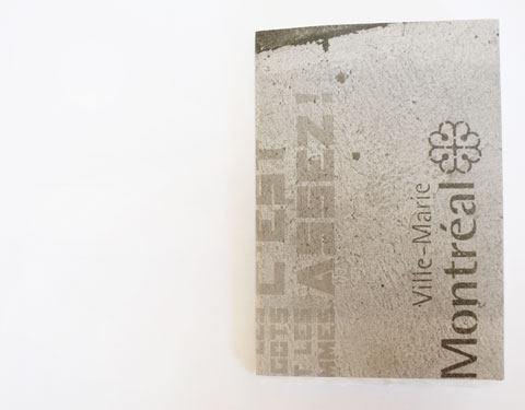 Cover of Montreal italic calligraphy book